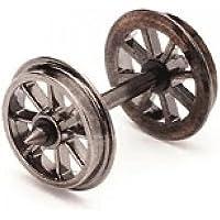Hornby R8098 10 Set Spoked Wheel/ Axles 00 Gauge Wheels & Couplings Accessory