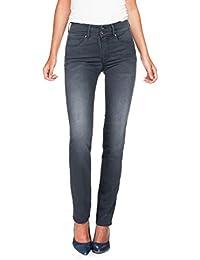 Salsa - Jeans Push In Secret taille haute et effet usé - Femme