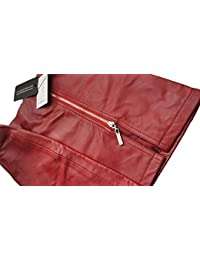 Leatherotics Red Leather Skirt Classic Design Super Sexy Mini Skirt Tight Fit 1298R