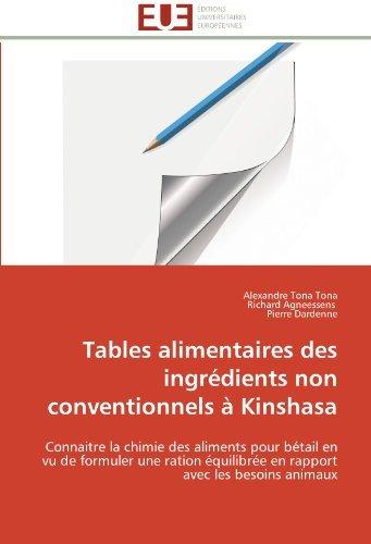 tables-alimentaires-des-ingrdients-non-conventionnels-kinshasa-connaitre-la-chimie-des-aliments-pour