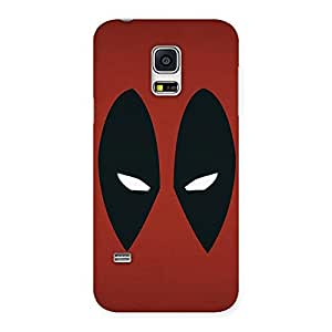 Special Red Dead Black Eye Back Case Cover for Galaxy S5 Mini