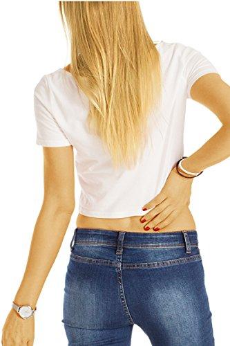 Bestyledberlin Damen Skinny Jeans, Stretch Hüftjeans, Superenge Röhrenjeans j26l Dunkelblau