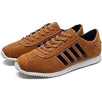 Los Hombres de la Manera Que corren los Zapatos Respirables Masculinos al Aire Libre se divierten los Zapatos Zapatos de Entrenamiento Resistentes al Desgaste Antideslizantes Zapatos Casuales
