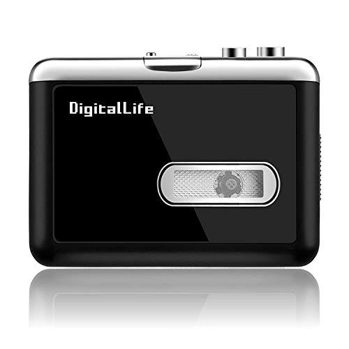 DigitalLife Walkman Lecteur Cass...