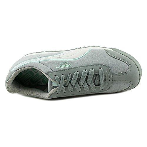 Puma Roma Jersey Toile Baskets Gray-Violet-White-Bay