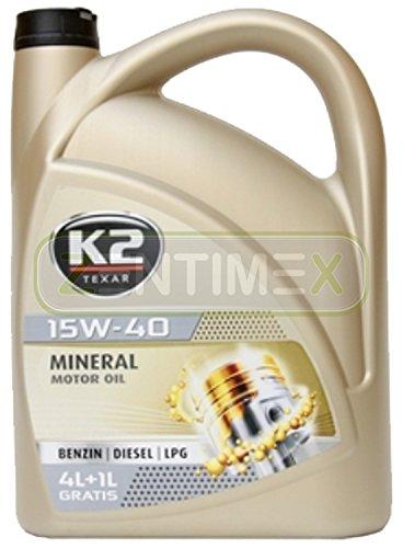 Motoröl Öl Mineral-Öl mineralisch 15W-40 Nanotechnologie Benzin-Motoren Benziner LPG-Motoren...