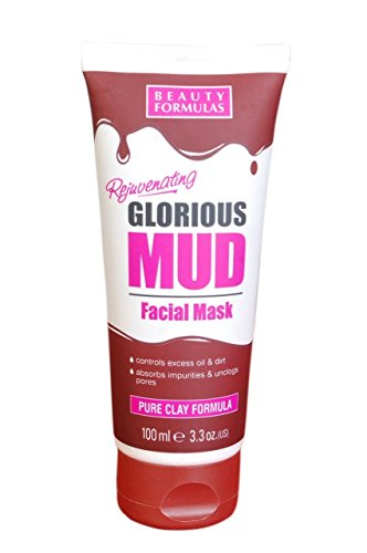 Beauty Formulas Mud Facial Mask, 100ml