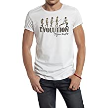 Fiji Rugby Evolution Mens T-Shirt Camiseta Para Hombre Perfect for World Cup