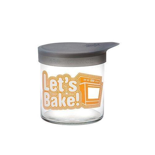 Boîte de Conservation / Stockage Bocal 420 Jar M Wide-Mouth (Let's Bake)
