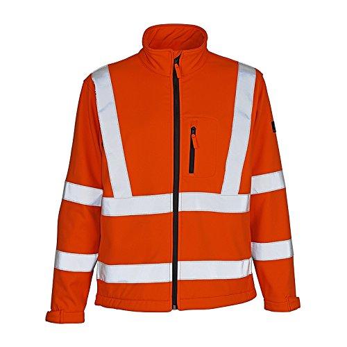 Preisvergleich Produktbild Mascot 08005-159 Warnschutz Softshelljacke Calgary Mascot®SafeArctic, Orange, S