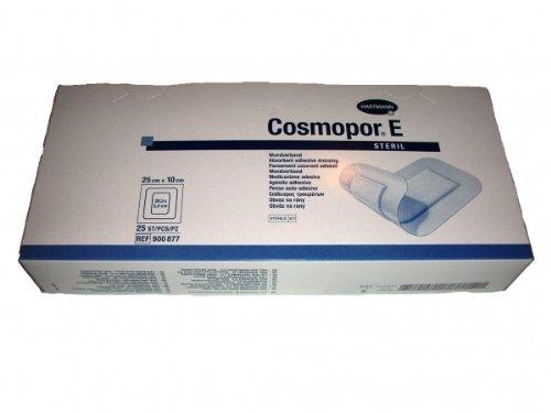 Cosmopore E Wundverband Vlies 25 x 10 cm steril 25 Stk.