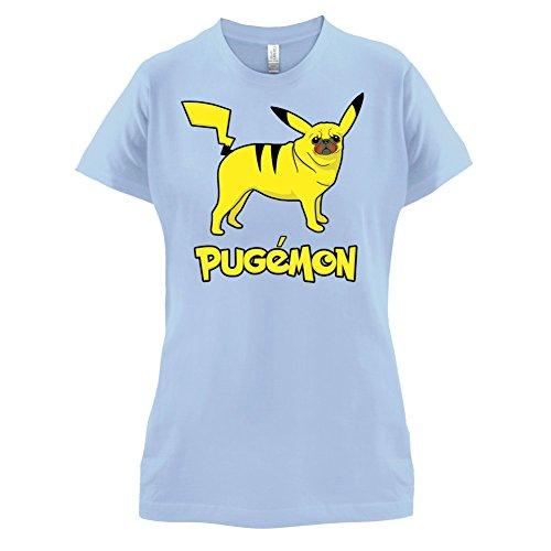 Pugemon - Damen T-Shirt - 14 Farben Himmelblau