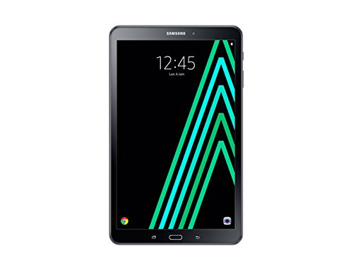 Tablet touch Samsung Galaxy Tab da 10,1 '(25,65 cm), 16 GB, Android, 1 porta USB 2,0; 1 presa Jack, colore: nero