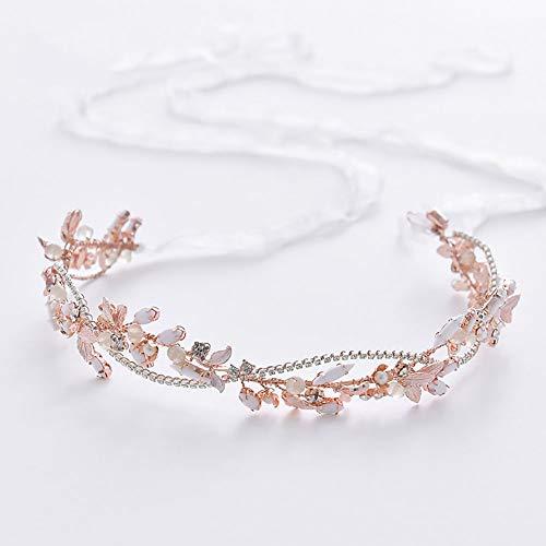 Kreative Hochzeit Haarband Handgemachte Kristall Perlen Haarschmuck Krone Braut Prinzessin...