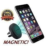 MMOBIEL Universal magnetische Smartphone Handy Halterung Kfz/Auto Handyhalter Mount für Lüftungsgitter Klimaanlage Lüftung