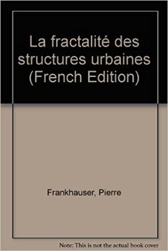 La fractalité des structures urbaines pdf epub