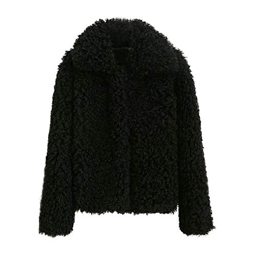 TianWlio Damen Mäntel Frauen Winter Warm Dicken Mantel Solid Mantel Mantel Jacke Strickjacke Mantel