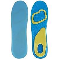 E-Cron Plantillas Deportivas de Silicona para Mujer (39-42).Plantillas con Doble Capa de Silicona con Apoyo para el Arco del pie y el talón.Capas de absorción de Choque y aliviar el Dolor.