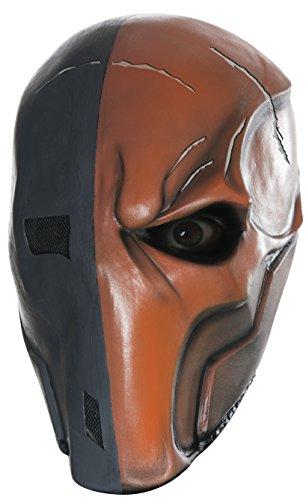 Deathstroke Maske für Herren Halloween Horror Halloweenmaske Batman Arkham Asylum Horrormaske (Deathstroke Maske)
