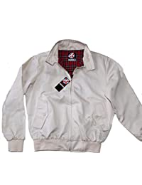 Warrior Original Clothing Harrington Jacket Stone