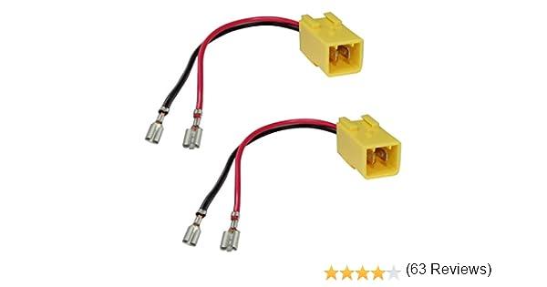 Aerzetix 2/cavo/ /Connettori per altoparlante auto