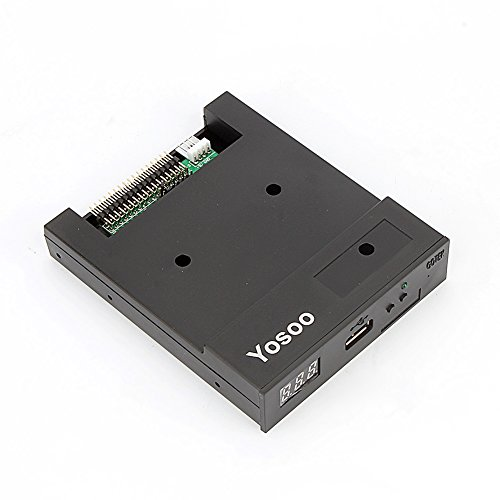Yosoo SFR1M44-U100K Updated Version USB Floppy Drive Emulator für Elektronisch Organ – Schwarz - 3