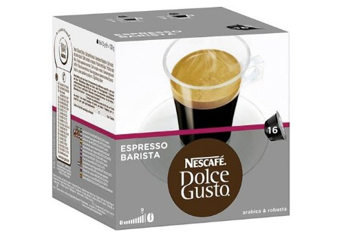 Nestle 'Barrista espresso' coffee capsules for Dolce Gusto (3 packs)
