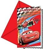 Disney Cars 2 - Einladungskarten