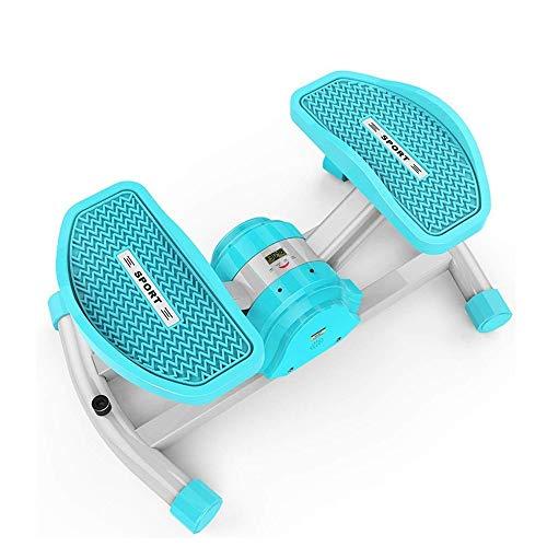 rutschfest Aerobic Fitness Swing Drahtlose Bluetooth Stepper Home Kleine Mini Gewichtsverlust Maschine Fußmassagegerät Fitnessgeräte, Größe: 54,5X35,5X23 cm dauerhaft