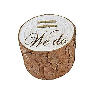 abiet Hochzeit ringbox Holz ringbox Holz Hochzeit, Holz ringbox Vintage Für Ringe Mit Datum Trauung Verlobung