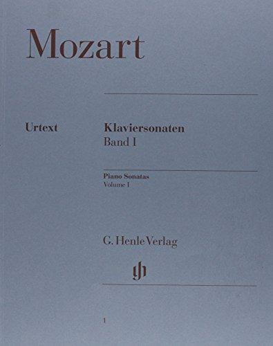 Mozart : Piano Sonates, Volume 1