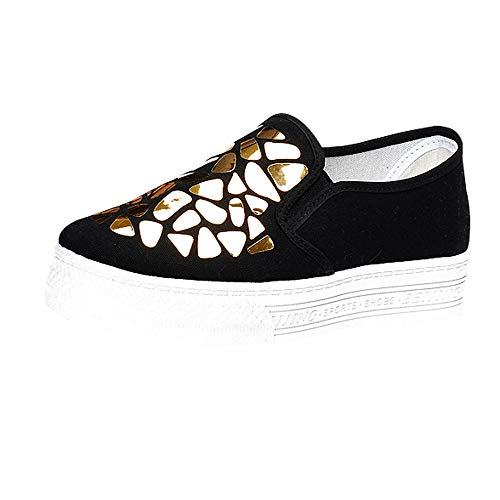 Damen Schuhe,TWBB Gitter Breathable Segeltuch Flache Schuhe Niedrig Arbeiten Weiche Schuhe Stoffschuhe