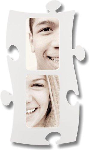 Puzzle Marco, 2 pintar 10x15cm - blanco