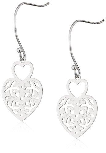 Tous mes bijoux pendientes Mujer plata Plata de ley (925/1000)