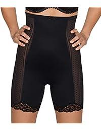Panty gaine taille haute Couture noir