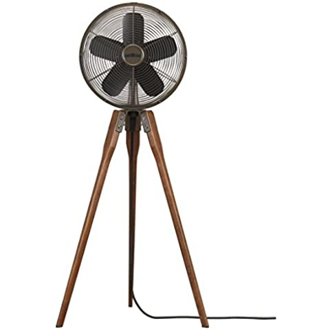 CASA BRUNO ventilador oscilante de pie ARDEN, bronce antiguo