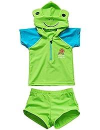 Bebé Trajes de baño Beachwear Camisetas Bañadores con Tapa Vine (Edad 1 -6 años)
