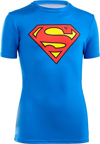 Under Armour T-shirt Kinder (Under Armour Jungen Fitness T-Shirt und Tank UA Alter, Royal, YXL, 1244392)