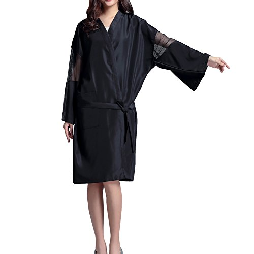 salon-de-beaute-professionnel-cape-waterproof-spa-robe-de-bain-kimono-noir