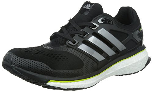adidas Performance Energy Boost ESM Herren Laufschuhe, Grey (Core Black/Core Black), 43 1/3