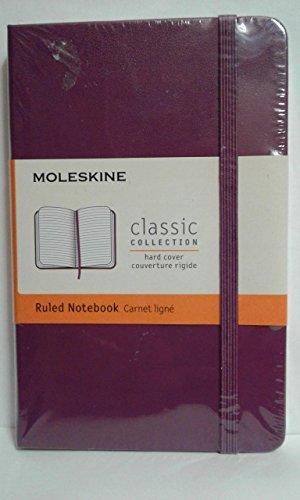 Moleskine DHH1012WN2Y17 - Agenda semanal 12 meses, pocket 9 x 14, color morado