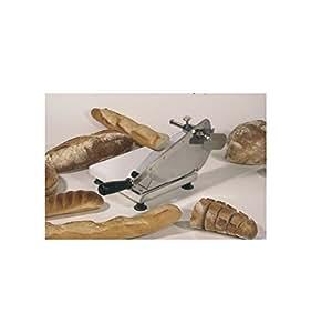 trancheuse pain manuelle socle bois verni massif cuisine maison. Black Bedroom Furniture Sets. Home Design Ideas