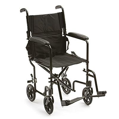 Drive DeVilbiss Healthcare Lightweight Aluminium Foldable Travel Chair