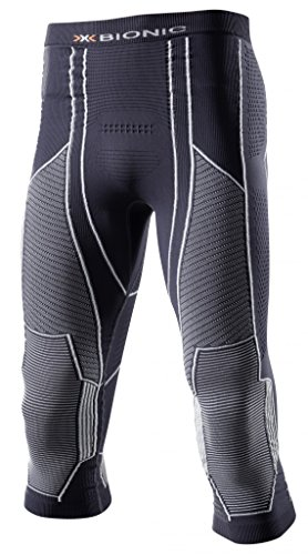 X-Bionic Herren Moto Energizer Light Man UW M Leggings, Charcoal/Pearl Grey, L/XL