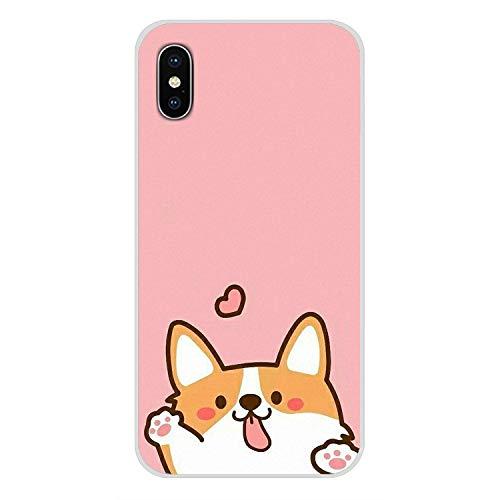 Super netten Corgi Sexy Cartoon-Hund Ass-Schwarz-Fall-Abdeckung für iPhone X Xr Xs Max 4 4S 5 5S 5C Du 6 6S 7 8 Plus, für iPhone 7 Plus Bilder 3