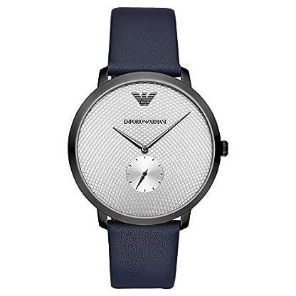 Reloj Emporio Armani Reloj Analógico-Digital para Adultos Unisex de Cuarzo con Correa en Aleación 1