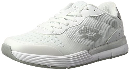 Lotto Sport Dayride Ii Amf W, Sneakers Basses Femme Blanc (Wht/slv Mt)