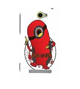 EPICCASE Minion Deadpool Mobile Back Case Cover For HTC One M10 (Designer Case)