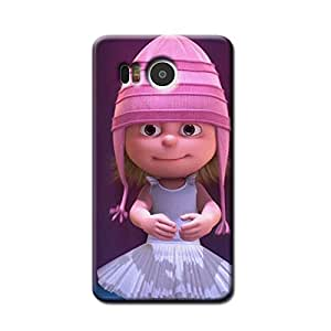 PINK DOLL BACK COVER FOR GOOGLE NEXUS 5X