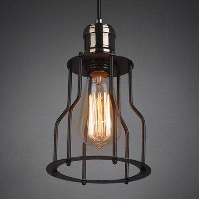 SDKKY Lampada da tavolo lampadario di ferro